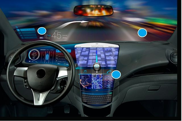 One of the rapidly expanding segments in automotive-electronics market is automotive display. (photo from Internet)