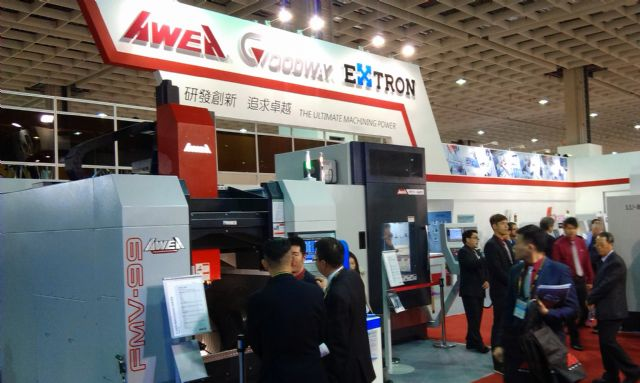 Taiwan's leading machine-tool makers including AWEA and Goodway predict missed 2015 revenue targets.