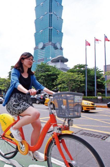 Ubike, one of the most successful bicycle-sharing systems globally, continues to be very popular in urban locales in Taiwan.