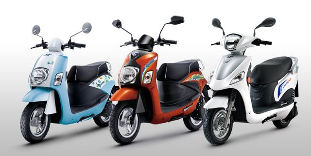 Export volume of Taiwan-made e-scooter continues to increase in recent years.