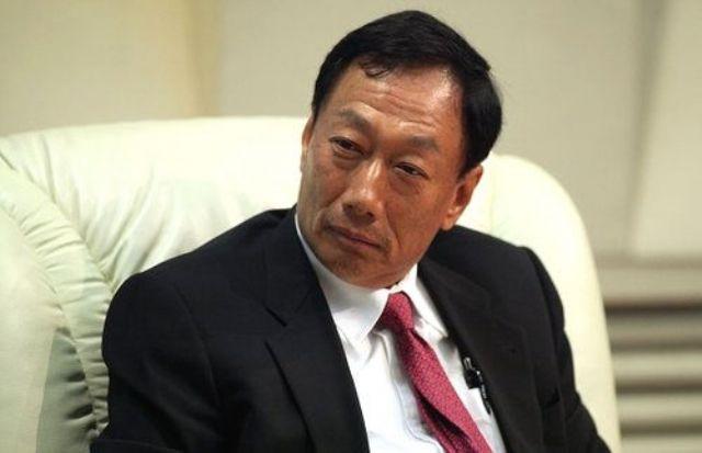 Hon Hai Group's chairman Terry Gou. (photo from UDN)
