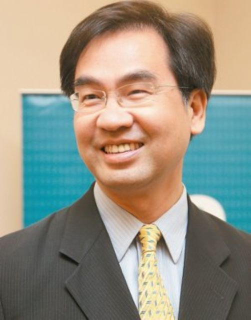 Michael Tsai, AUO's president-COO nominated in late 2015. (photo from UDN)