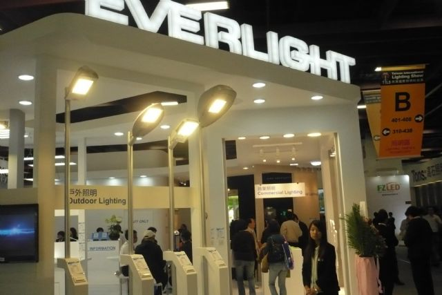 Orders rise at LED makers Everlight and Epistar last December.