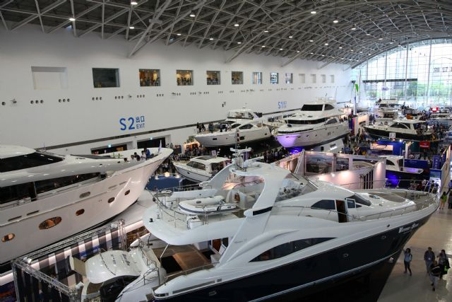 The upcoming TIBS 2016 will remain Asia's largest trade fair for yachts to drive Taiwan's megayacht building sector (photo courtesy of TIBS organizers).