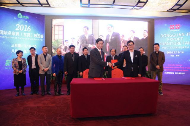 The press conference held in late-January for inaugural 3F Export scheduled in September, 2016 in Dongguan, southeastern China.