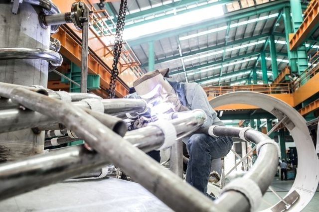 IEK forecasts output value of Taiwan's metal products and machinery to continue shrinking in 2016 (photo courtesy of UDN.com).