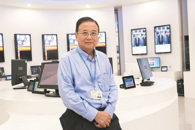 Jason Hsuan, Chairman and CEO of TPV Technology Ltd., the world's largest contract assembler of LCD monitors and distributor of its own AOC and Envision branded products. (photo from UDN)