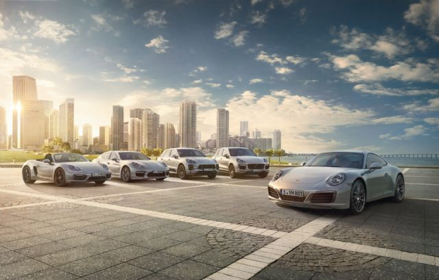 Porsche sales hit a record in Asia Pacific of 5,583 units, including 3,355 units in Taiwan. (photo from Porsche)