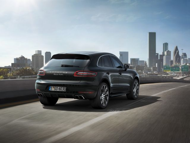 Porsche Macan SUV, the single most popular model in the brand's lineup in Taiwan. (photo from Porsche)