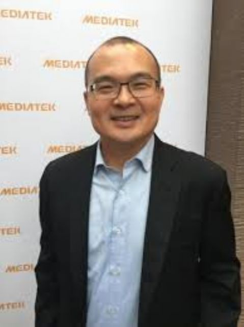 Mediatek Vice Chairman C.J. Hsieh.