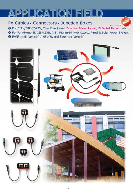 K.S. Terminals promotes wiring accessories for green energy applications.