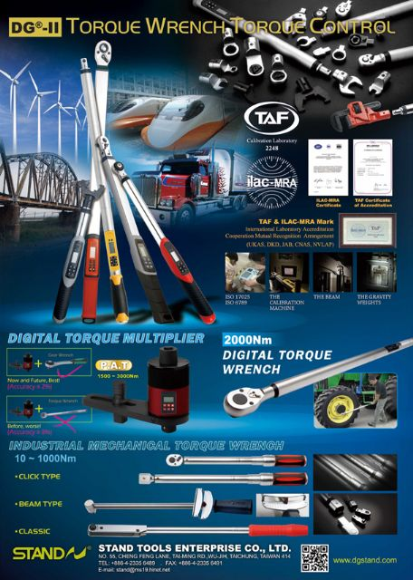 Stand Tools is renowned for making wide ranging torque wrenches to meet different needs.