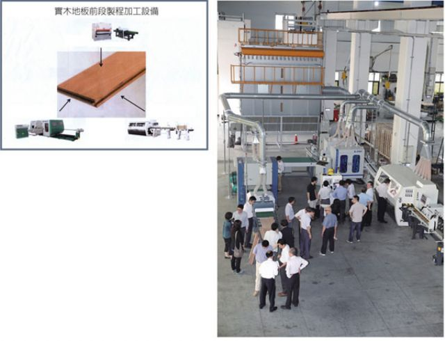 An automated turnkey production line by the W-Team.