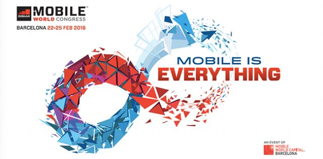 Mobile World Congress (MWC) 2016 in Barcelona's catchy slogan: Mobile is Everthing!
