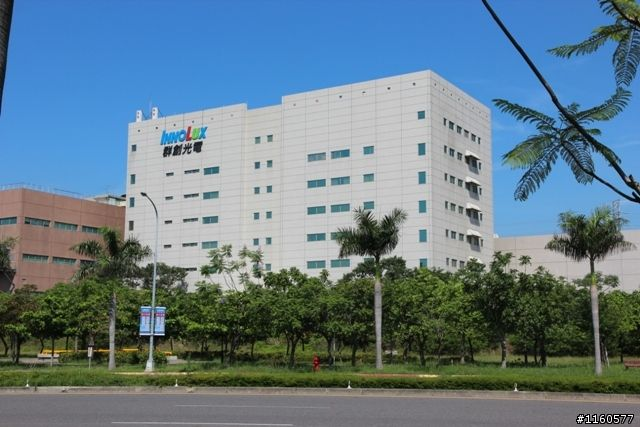 Innolux's facility in Southern Taiwan Science Park where production was affected by a 6.4-magnitude earthquake in early February. (photo from Internet)