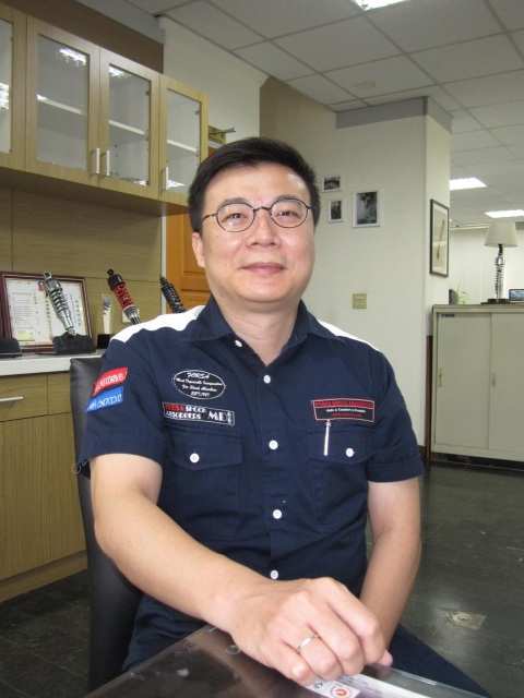 David Lu, director of Forsa, one of the world`s most comprehensive suppliers of shock absorbers for PTWs, ATVs, UTVs etc.