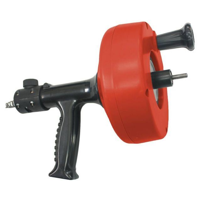 The Power Auto Feeding Drain Rooter can be fitted with Tornado Drain Stick for enhanced drain-cleaning efficiency.
