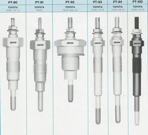 """Jin Bao Yuh's glow plugs come in various specifications and are marketed globally under its """"JIKON"""" brand."""