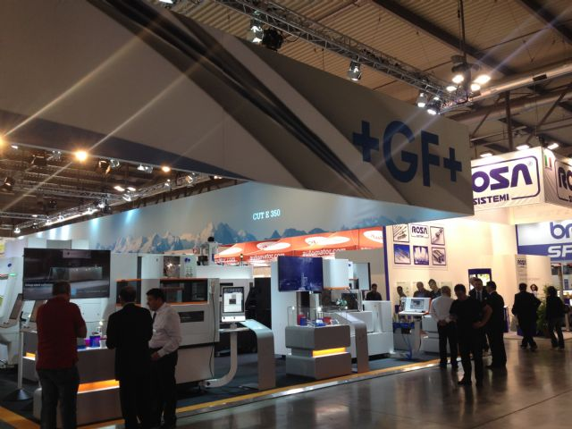 GF Machining Solutions exhibited at EMO Milano 2015.