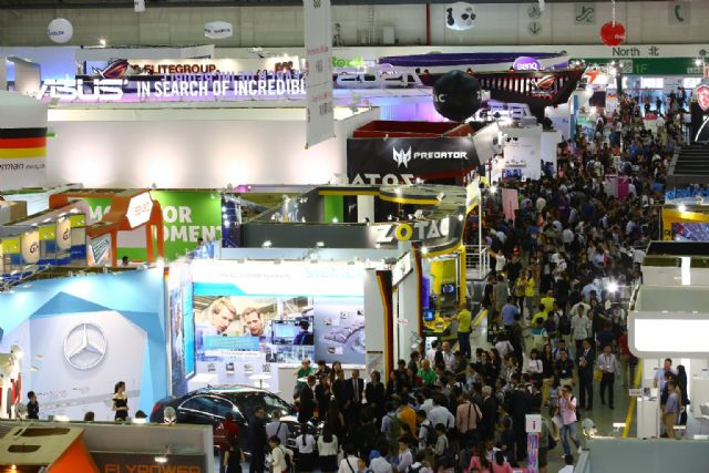 Over 40,000 industry professionals and visitors from 177 different countries of the world were present at COMPUTEX 2016 during its five-day run(photo courtesy of TAITRA).