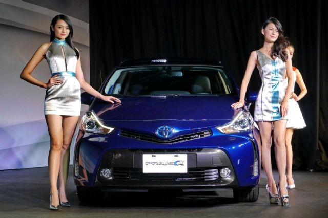 Buoyant sales of locally assembled vehicles sustained Taiwan's overall auto market in the month (photo courtesy of UDN.com).