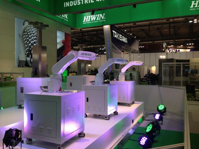 Hiwin is going to boost its output of robotic arms in China in response to growing local market demand for industrial automation equipment.