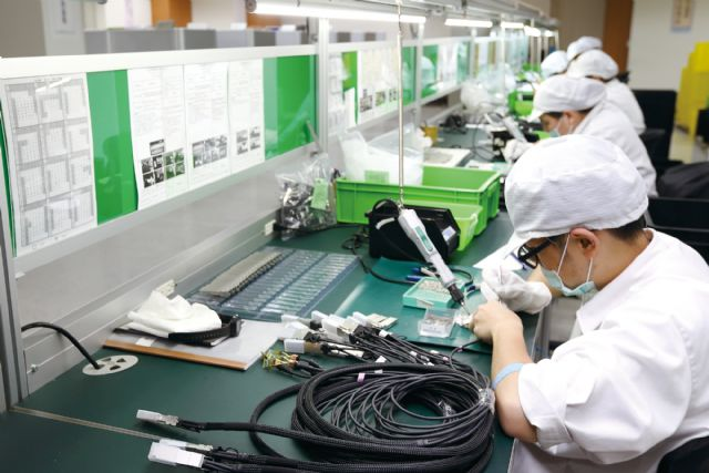 Taiwan's PMI has remained above 50 for four months in a row to show steady expansion of local manufacturing sectors (photo courtesy of UDN.com).