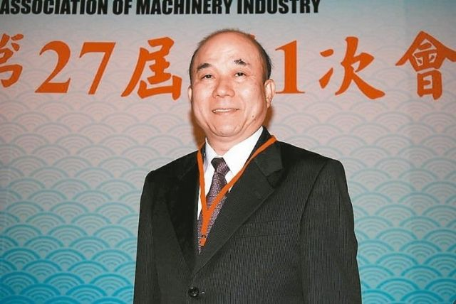 Alex Ko, chairman of TAMI, says the association aims to assist 30 Taiwanese machinery-related companies to go public in the next five years (photo courtesy of UDN.com).