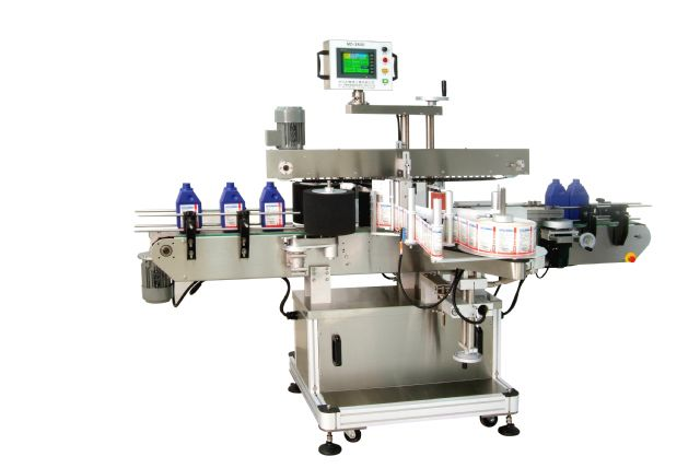 An advanced labeling machine developed in Taiwan.