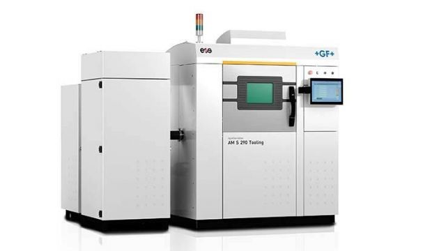 The AgieCharmilles AM S 290 Tooling, based on the EOS technology, is GF Machining Solutions' first 3D printing solution fully aligned with the mission of resolving manufacturers' real-life application and business challenges (photo courtesy of GF Machining Solutions).
