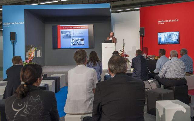 Automechanika Academy will be staged during Automechanika Frankfurt 2016 to shed light on the development of the global automobile trade and car production industries.