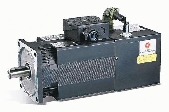 Fukuta's independently developed servo motor (photo courtesy of UDN.com).