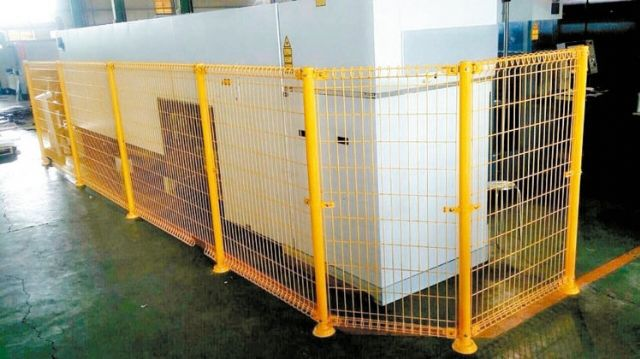 Sanfa Fan supplies wire meshes and machinery guards as a specialized maker in Taiwan (photo courtesy of UDN.com)