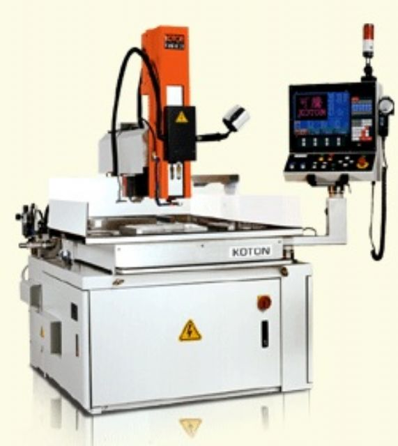 Sample of Koton EDM's electric discharge machine (photo courtesy of CENS.com)