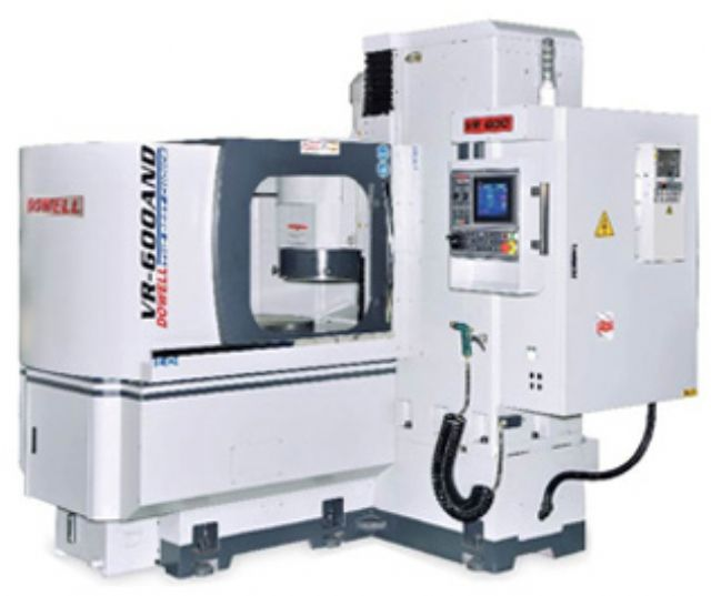 DOWELL's vertical/horizontal rotary-type grinding machines (photo courtesy of Tong Yi).