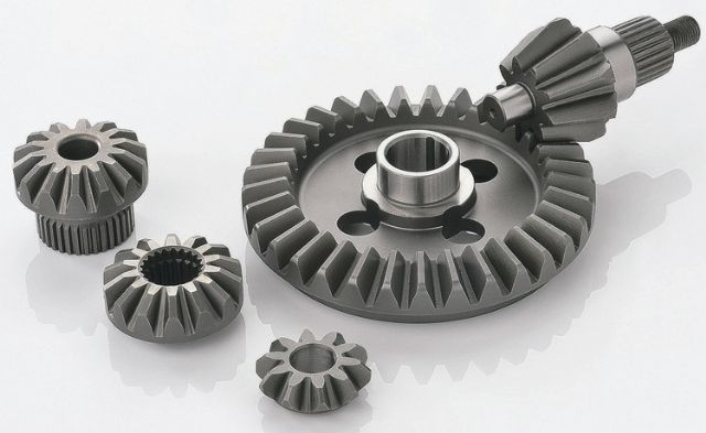 Excellent Gear excels in various spiral bevel gears (photo courtesy of UDN.com).