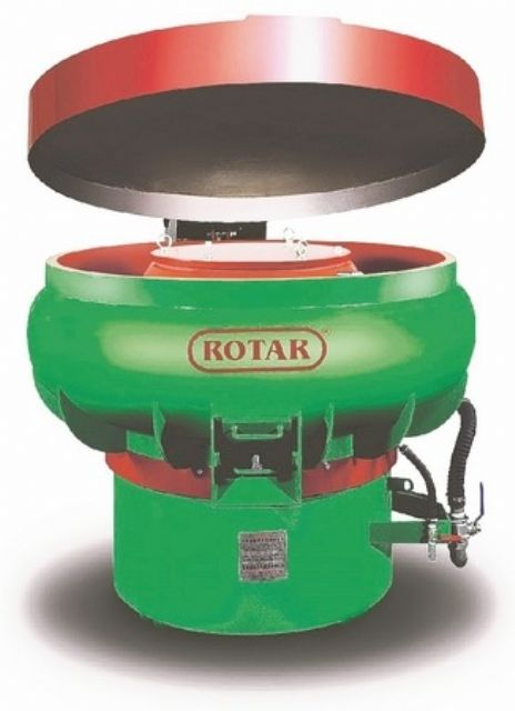 Rotar Machinery provides professional vibratory finishing service to help enhance added-value of Taiwan-made products (photo courtesy of Rotar Machinery).