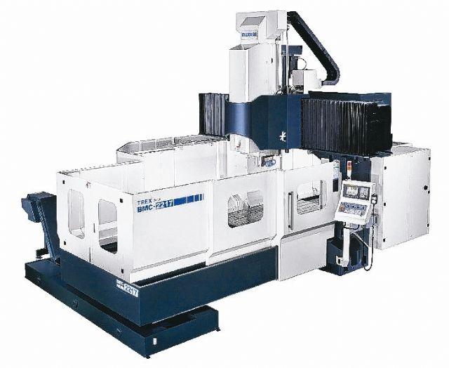 Maxmill's Klosso series double-column machining centers (photo courtesy of Maxmill).