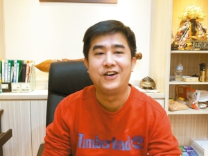 偉文螺絲工業總經理洪偉文有絕佳的經營智慧。 林政鋒/攝影