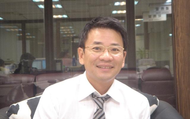寶雅總經理陳宗成。記者邱馨儀/攝影