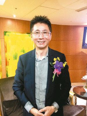 邑錡董事長陳世哲。 聯合報系資料庫