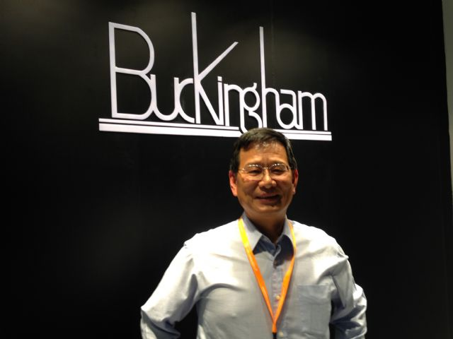 Michael Lin, general manager of Buckingham and executive vice chairman of Taiwan Compatrion Investment Enterprises Association of Kushan.