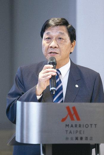 漢翔公司今天與GE公司簽署 Fast Power MOU,漢翔總經理夏康。 記者邱德祥/攝影