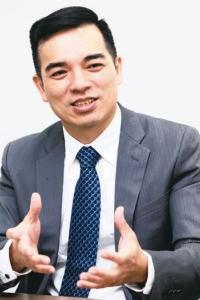 元太董事长暨执行长柯富仁 图/经济日报