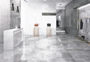 强调源于石材、胜于石材的大理石磁砖,将磁砖纹理表现自然,蕴涵天然石材的高贵质感,已成为追求格调生活与精致空间人士的首选。 马可贝里磁砖/提供
