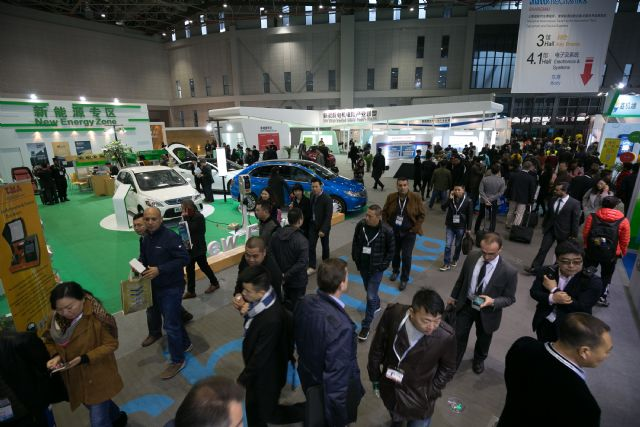 New Energy Zone is one of the highlighted zones of Automechanika Shanghai (photo courtesy of show organizer).