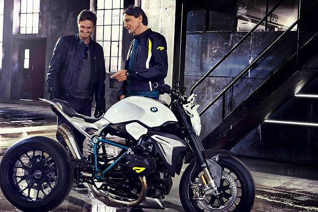 BMW全新概念摩托車Kinky Concept Roadster。 BMW Motorrad提供