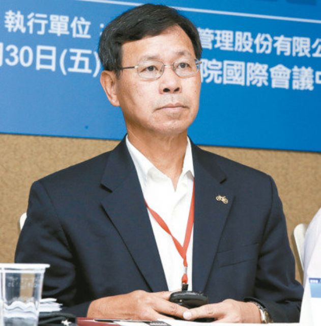 Vice chairman Jimmy Yang of Kenda Rubber (photo courtesy of EDN).