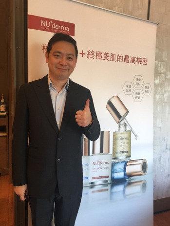 霈方國際董事長呂慶盛。 圖╱記者江碩涵攝影