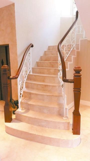 高木祥公司以優質工藝打造兼具設計、情境、人文與藝術氣息的木樓梯產品。 高木祥/提供